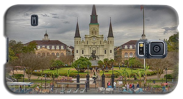 New Orleans Jackson Square Galaxy S5 Case
