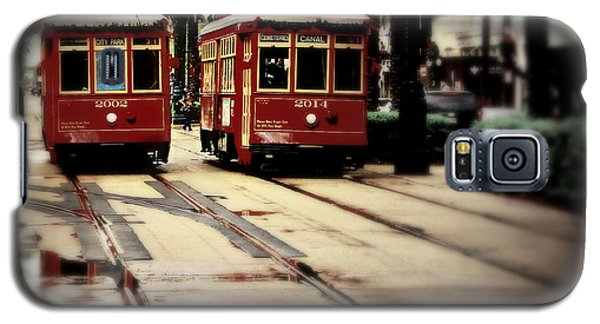 New Orleans Red Streetcars Galaxy S5 Case