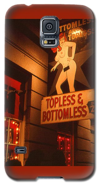 New Orleans Topless Bottomless Sexy Galaxy S5 Case