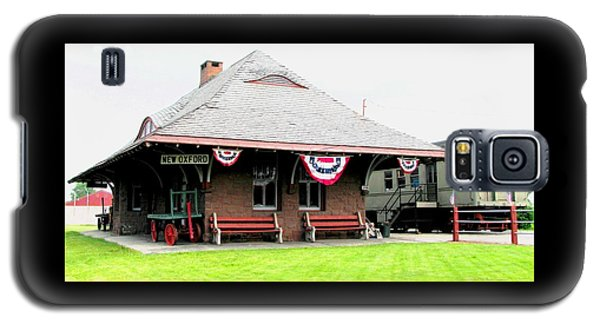New Oxford Pennsylvania Train Station Galaxy S5 Case