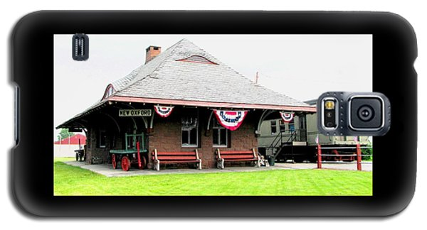 New Oxford Pennsylvania Train Station Galaxy S5 Case by Angela Davies