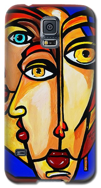 New Picasso By Nora Friends Galaxy S5 Case