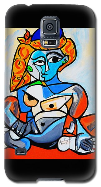 New  Picasso By Nora  Nude Woman With Turkish Bonnet Galaxy S5 Case