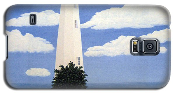New Point Comfort Lighthouse 22x30 Galaxy S5 Case by Frederic Kohli