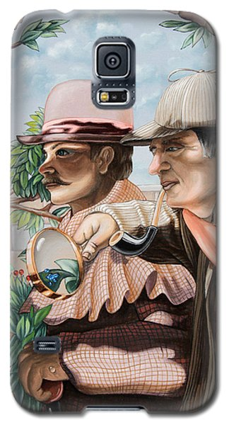 New Story By Sir Arthur Conan Doyle About Sherlock Holmes Galaxy S5 Case