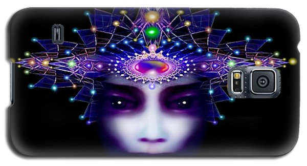 Galaxy S5 Case featuring the painting Celestial  Beauty by Hartmut Jager