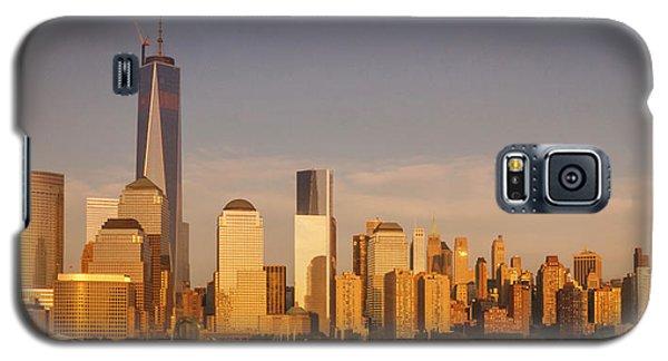 New World Trade Memorial Center And New York City Skyline Panorama Galaxy S5 Case