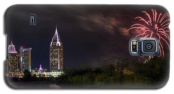 New Year Celebration 3 Galaxy S5 Case
