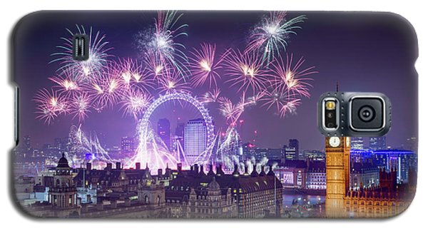 New Year Fireworks London Galaxy S5 Case