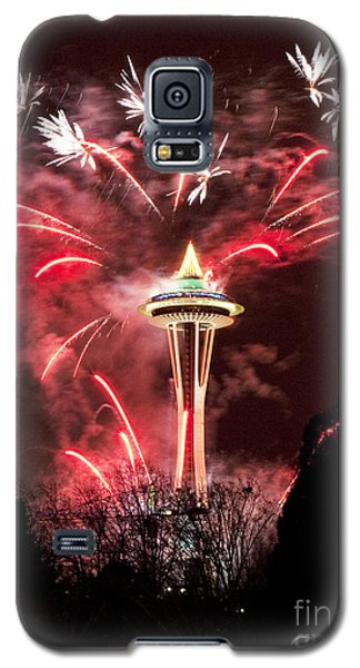 New Years At The Space Needle Galaxy S5 Case