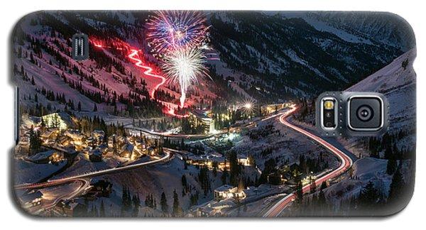 New Year's Eve At Snowbird Galaxy S5 Case