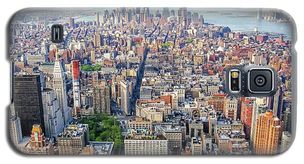 New York Aerial View Galaxy S5 Case