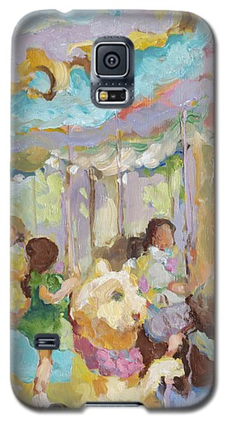 New York Carousel Galaxy S5 Case by Sharon Furner
