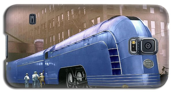 Galaxy S5 Case featuring the photograph New York Central by Steven Agius