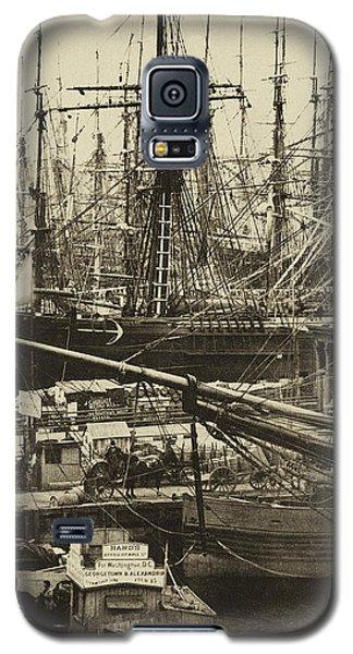 New York City Docks - 1800s Galaxy S5 Case