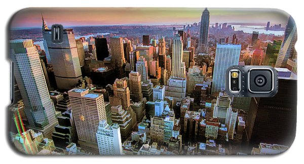 New York City Downtown Manhattan Galaxy S5 Case