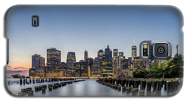 New York City Dusk Galaxy S5 Case