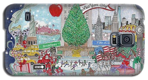 New York City Holiday Galaxy S5 Case