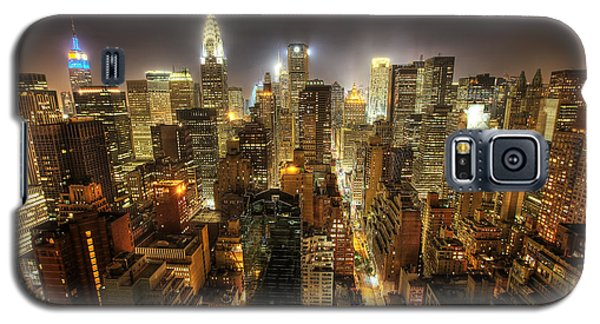 New York City Night Galaxy S5 Case