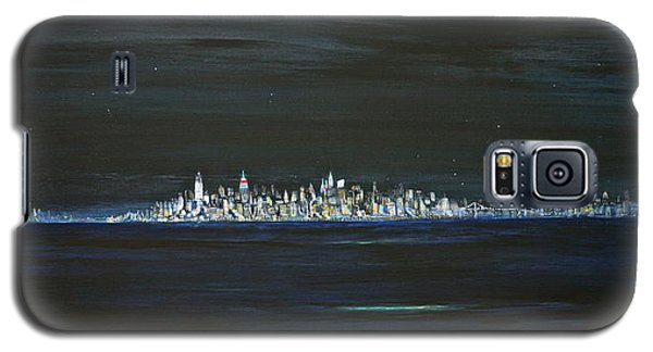 New York City Nights Galaxy S5 Case