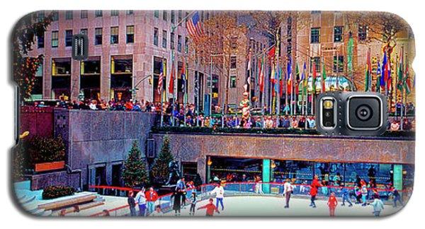 New York City Rockefeller Center Ice Rink  Galaxy S5 Case