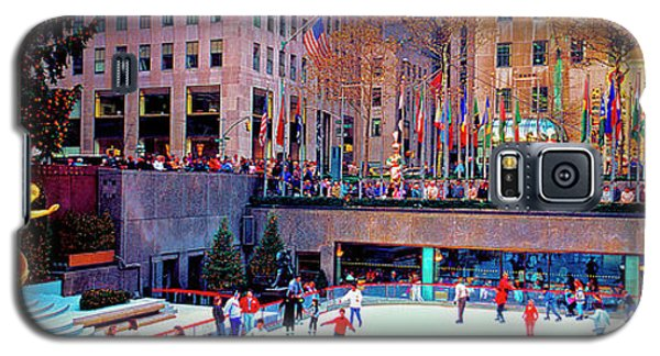 New York City Rockefeller Center Ice Rink  Galaxy S5 Case