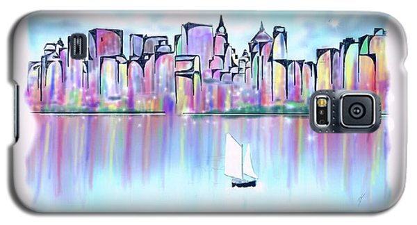 New York City Scape Galaxy S5 Case