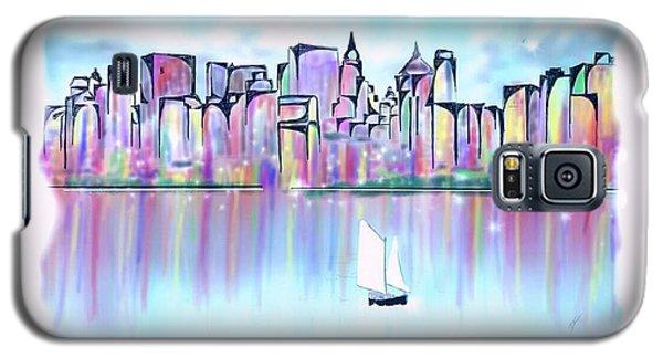 New York City Scape Galaxy S5 Case