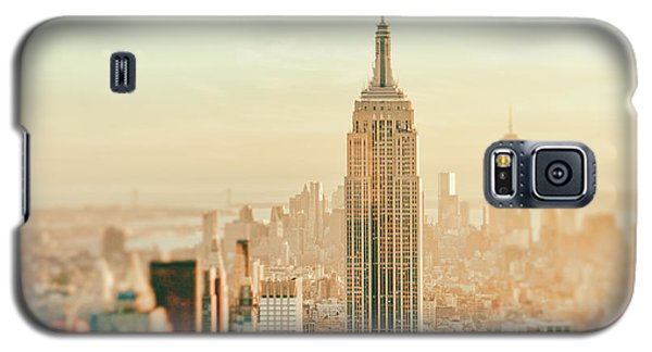 Sunset Galaxy S5 Case - New York City - Skyline Dream by Vivienne Gucwa