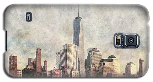 New York City Skyline Including The World Trade Centre Galaxy S5 Case