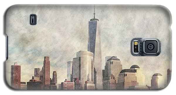 New York City Skyline Including The World Trade Centre Galaxy S5 Case