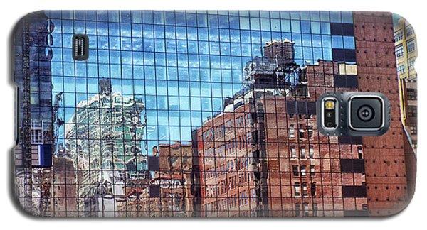 New York City Skyscraper Art 4 Galaxy S5 Case by Judi Saunders