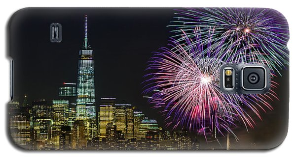 New York City Summer Fireworks Galaxy S5 Case