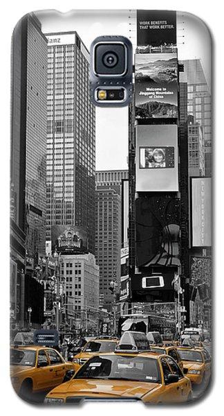 City Scenes Galaxy S5 Case - New York City Times Square  by Melanie Viola
