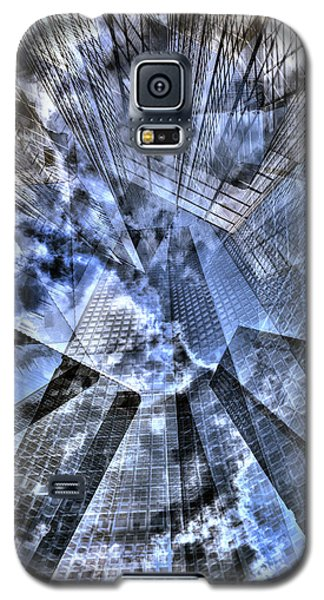 New York Iris Collage Galaxy S5 Case