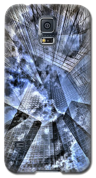 New York Iris Collage Galaxy S5 Case