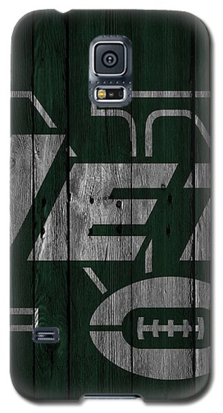 New York Jets Wood Fence Galaxy S5 Case
