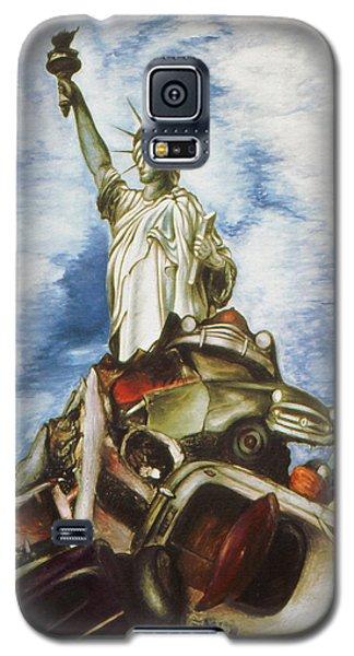 New York Liberty 77 - Fantasy Art Painting Galaxy S5 Case