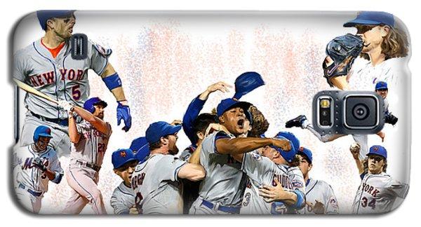 New York Mets 2015  Metropolitan Champions Galaxy S5 Case