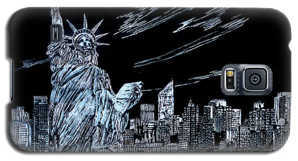 New York New York New York  Galaxy S5 Case by Saad Hasnain