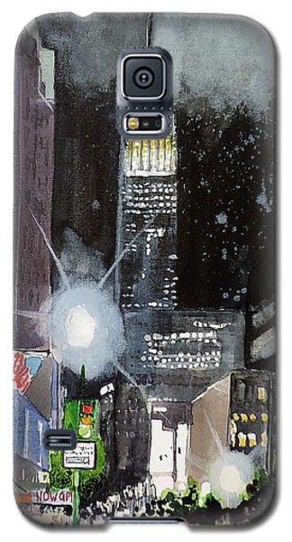 New York Night Galaxy S5 Case by Tom Riggs