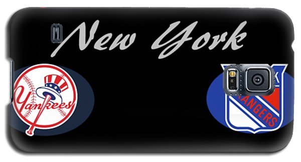 New York Professional Sport Teams Collage  Galaxy S5 Case