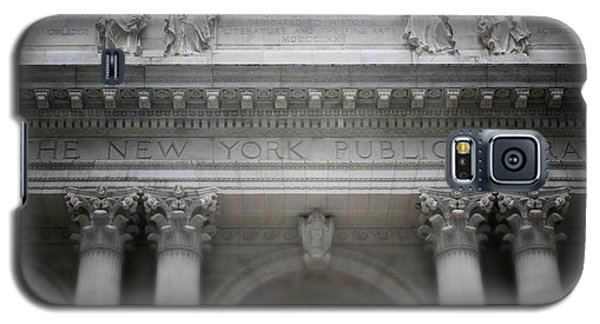 School Galaxy S5 Case - New York Public Library- Art By Linda Woods by Linda Woods