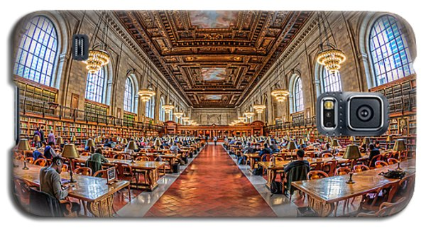 New York Public Library Main Reading Room I Galaxy S5 Case