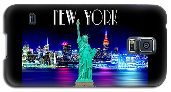 New York Shines Galaxy S5 Case by Az Jackson
