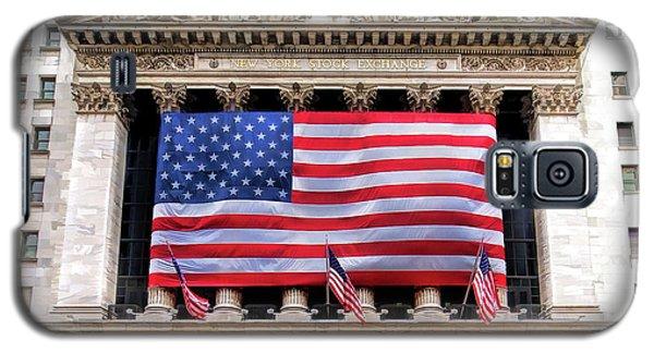 New York Stock Exchange Flag Galaxy S5 Case