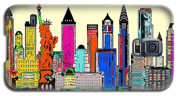 New York - The Big City Galaxy S5 Case
