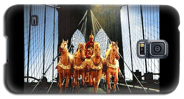 New York Time Machine - Fantasy Art Galaxy S5 Case