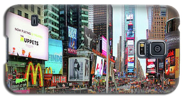 New York Times Square Panorama Galaxy S5 Case