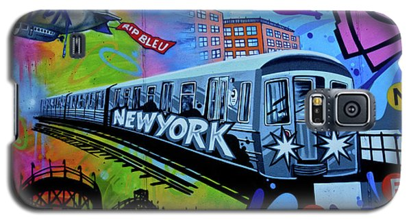 New York Train Galaxy S5 Case